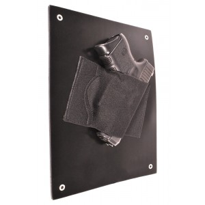 Under The Desk Holster  - Bedside or Wall Mounted Concealed Gun Holster